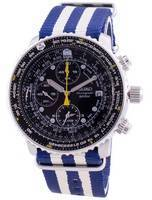 Seiko Pilot's Flight SNA411P1-VAR-NATO2 Quartz Chronograph 200M Men's Watch