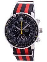 Seiko Pilot's Flight SNA411P1-VAR-NATO3 Quartz Chronograph 200M Men's Watch