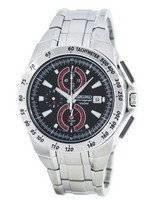 Seiko Quartz Chronograph Alarm SNAB07 SNAB07P1 SNAB07P Men's Watch
