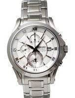 Seiko Chronograph Premier Alarm Watch SNAD25P1 SNAD25P SNAD25