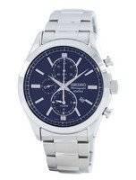 Seiko Quartz Alarm Chronograph SNAF65 SNAF65P1 SNAF65P Men's Watch