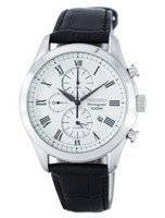Seiko Chronograph Quartz Alarm SNAF69 SNAF69P1 SNAF69P Men's Watch