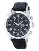 Seiko Chronograph Quartz Alarm SNAF71 SNAF71P1 SNAF71P Men's Watch