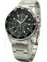Seiko Tachymeter Chronograph SNDA75P1 SNDA75P SNDA75 Motor Sports Watch