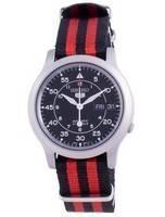 Seiko 5 Military SNK809K2-var-NATOS15 Automatic Nylon Strap Men's Watch