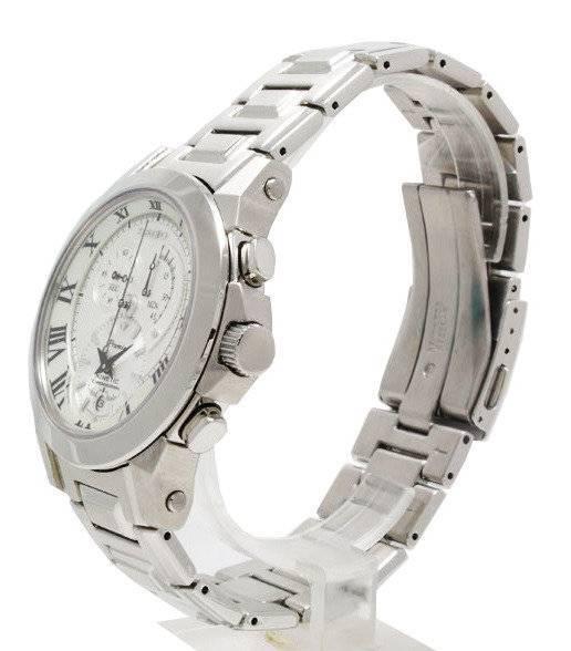 Seiko Men' s Premier Kinetic Chronograph Watch SNL039P1