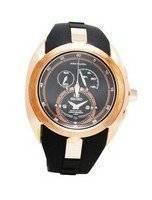 Seiko Men's Watches Arctura Kinetic Chronograph Rose Gold SNL060