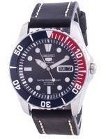 Seiko 5 Sports Blue Dial Automatic Diver's SNZF15K1-var-LS16 100M Men's Watch
