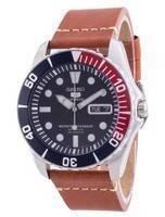 Seiko 5 Sports Blue Dial Automatic SNZF15K1-var-LS21 100M Men's Watch
