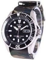Seiko 5 Sports Automatic NATO Strap SNZF17K1-NATO5 Men's Watch