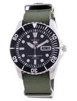 Seiko 5 Sports Black Dial Automatic SNZF17K1-var-NATO9 100M Men's Watch