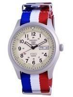 Seiko 5 Sports Military Automatic Japan Made SNZG07J1-var-NATO25 100M Men's Watch