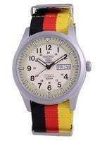 Seiko 5 Sports Military Automatic Japan Made SNZG07J1-var-NATO26 100M Men's Watch