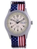Seiko 5 Sports Military Automatic Japan Made SNZG07J1-var-NATO27 100M Men's Watch