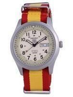 Seiko 5 Sports Military Automatic Japan Made SNZG07J1-var-NATO29 100M Men's Watch
