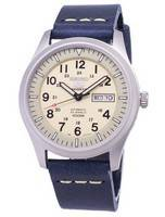 Seiko 5 Sports SNZG07K1-LS15 Automatic Dark Blue Leather Strap Men's Watch