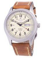 Seiko 5 Sports SNZG07K1-LS17 Automatic Brown Leather Strap Men's Watch