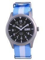 Seiko 5 Sports Automatic Japan Made SNZG09J1-var-NATO24 100M Men's Watch