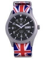 Seiko 5 Sports Automatic Japan Made SNZG09J1-var-NATO28 100M Men's Watch
