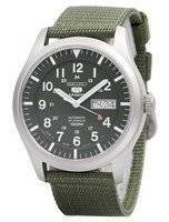 Seiko 5 Military Automatic Sports Japan Made SNZG09 SNZG09J1 SNZG09J Men's Watch