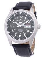 Seiko 5 Sports Automatic Ratio Black Leather SNZG09K1-LS10 Men's Watch