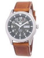 Seiko 5 Sports Automatic Ratio Brown Leather SNZG09K1-LS9 Men's Watch