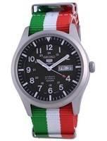 Seiko 5 Sports Military Automatic Polyester SNZG09K1-var-NATO23 100M Men's Watch