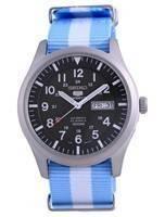Seiko 5 Sports Military Automatic Polyester SNZG09K1-var-NATO24 100M Men's Watch