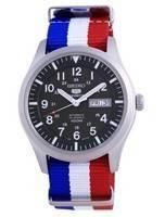 Seiko 5 Sports Military Automatic Polyester SNZG09K1-var-NATO25 100M Men's Watch