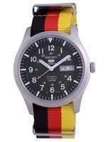 Seiko 5 Sports Military Automatic Polyester SNZG09K1-var-NATO26 100M Men's Watch