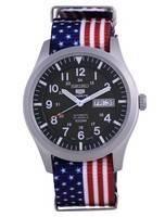 Seiko 5 Sports Military Automatic Polyester SNZG09K1-var-NATO27 100M Men's Watch