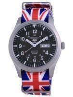 Seiko 5 Sports Military Automatic Polyester SNZG09K1-var-NATO28 100M Men's Watch