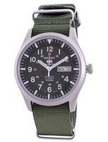 Seiko 5 Sports Military Automatic SNZG09K1-var-NATO9 100M Men's Watch