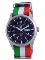 Seiko 5 Sports Automatic Polyester SNZG11J1-var-NATO23 100M Men's Watch