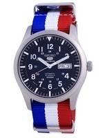 Seiko 5 Sports Automatic Polyester SNZG11J1-var-NATO25 100M Men's Watch