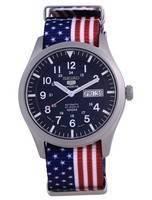 Seiko 5 Sports Automatic Polyester SNZG11J1-var-NATO27 100M Men's Watch