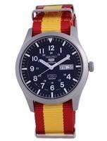 Seiko 5 Sports Automatic Polyester SNZG11J1-var-NATO29 100M Men's Watch