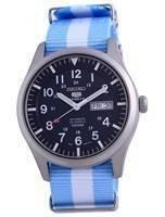 Seiko 5 Sports Automatic Polyester SNZG11K1-var-NATO24 100M Men's Watch