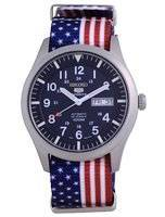 Seiko 5 Sports Automatic Polyester SNZG11K1-var-NATO27 100M Men's Watch
