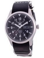 Seiko 5 Sports Black Dial Automatic SNZG15J1-var-LS19 100M Men's Watch