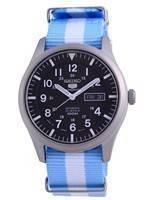 Seiko 5 Sports Automatic Polyester SNZG15J1-var-NATO24 100M Men's Watch