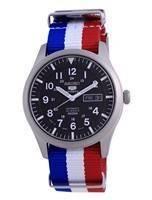 Seiko 5 Sports Automatic Polyester SNZG15J1-var-NATO25 100M Men's Watch