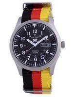 Seiko 5 Sports Automatic Polyester SNZG15J1-var-NATO26 100M Men's Watch