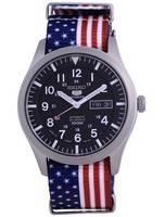 Seiko 5 Sports Automatic Polyester SNZG15J1-var-NATO27 100M Men's Watch