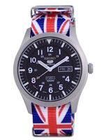 Seiko 5 Sports Automatic Polyester SNZG15J1-var-NATO28 100M Men's Watch
