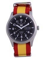 Seiko 5 Sports Automatic Polyester SNZG15J1-var-NATO29 100M Men's Watch