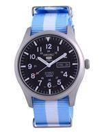 Seiko 5 Sports Automatic Polyester SNZG15K1-var-NATO24 100M Men's Watch