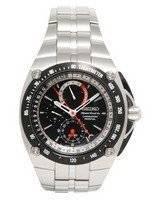 Seiko Sportura Alarm Chronograph Perpetual Watch SPC047P1 SPC047P SPC047
