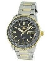 Seiko 5 Sports World Timer Automatic SRP130K1 SRP130 SRP130K Mens Watch