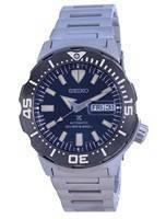 Relógio masculino Seiko Prospex Monster Diver automático SRPD25 SRPD25K1 SRPD25K 200M